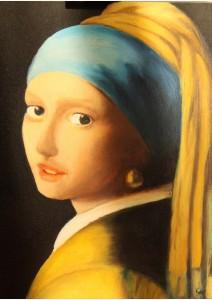 Le jeune fille aux perles